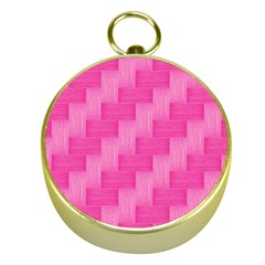 Pink Pattern Gold Compasses by Valentinaart