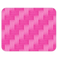 Pink Pattern Double Sided Flano Blanket (medium)  by Valentinaart