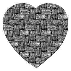 Gray Pattern Jigsaw Puzzle (heart) by Valentinaart