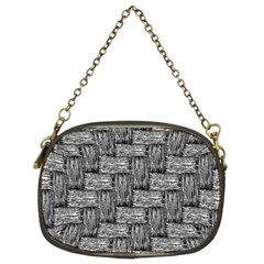 Gray Pattern Chain Purses (two Sides)  by Valentinaart