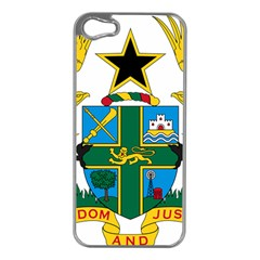 Coat Of Arms Of Ghana Apple Iphone 5 Case (silver) by abbeyz71