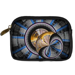 Fractal Tech Disc Background Digital Camera Cases by Simbadda