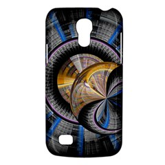 Fractal Tech Disc Background Galaxy S4 Mini by Simbadda