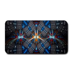 Fancy Fractal Pattern Medium Bar Mats by Simbadda