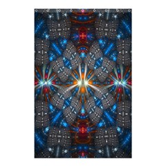 Fancy Fractal Pattern Shower Curtain 48  X 72  (small)  by Simbadda