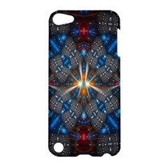Fancy Fractal Pattern Apple Ipod Touch 5 Hardshell Case by Simbadda