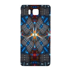 Fancy Fractal Pattern Samsung Galaxy Alpha Hardshell Back Case by Simbadda