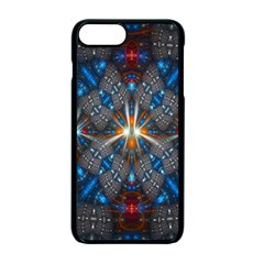 Fancy Fractal Pattern Apple Iphone 7 Plus Seamless Case (black) by Simbadda