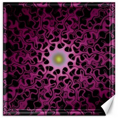 Cool Fractal Canvas 12  X 12   by Simbadda