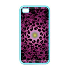Cool Fractal Apple Iphone 4 Case (color) by Simbadda