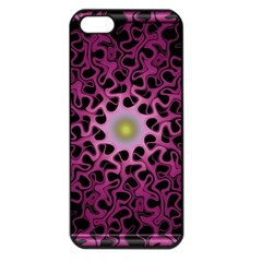Cool Fractal Apple Iphone 5 Seamless Case (black)