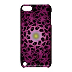 Cool Fractal Apple Ipod Touch 5 Hardshell Case With Stand by Simbadda