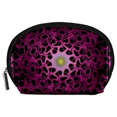 Cool Fractal Accessory Pouches (large)  by Simbadda