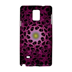 Cool Fractal Samsung Galaxy Note 4 Hardshell Case by Simbadda