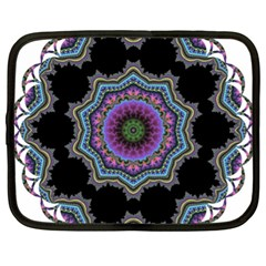 Fractal Lace Netbook Case (xl)