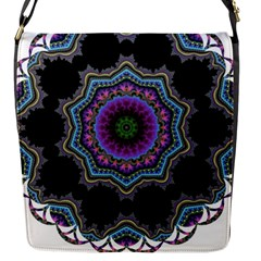 Fractal Lace Flap Messenger Bag (s) by Simbadda