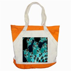 Decorative Fractal Background Accent Tote Bag by Simbadda