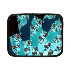 Decorative Fractal Background Netbook Case (small)  by Simbadda