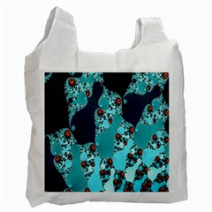 Decorative Fractal Background Recycle Bag (one Side) by Simbadda