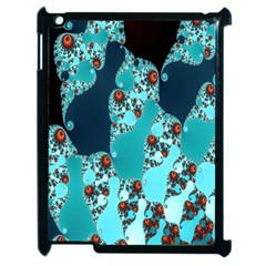 Decorative Fractal Background Apple Ipad 2 Case (black)
