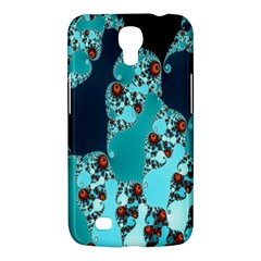 Decorative Fractal Background Samsung Galaxy Mega 6 3  I9200 Hardshell Case by Simbadda