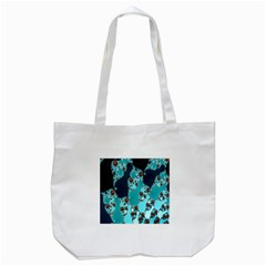 Decorative Fractal Background Tote Bag (white) by Simbadda