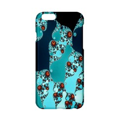 Decorative Fractal Background Apple Iphone 6/6s Hardshell Case by Simbadda