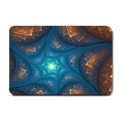 Fractal Star Small Doormat  by Simbadda