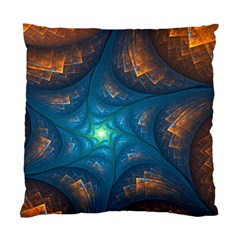 Fractal Star Standard Cushion Case (two Sides) by Simbadda
