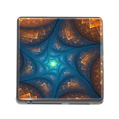 Fractal Star Memory Card Reader (square) by Simbadda