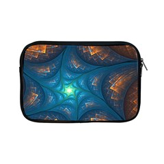 Fractal Star Apple Ipad Mini Zipper Cases by Simbadda