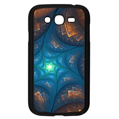 Fractal Star Samsung Galaxy Grand Duos I9082 Case (black) by Simbadda