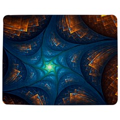 Fractal Star Jigsaw Puzzle Photo Stand (rectangular) by Simbadda