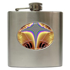 Symmetric Fractal Hip Flask (6 Oz) by Simbadda