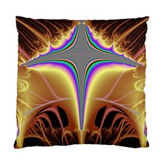 Symmetric Fractal Standard Cushion Case (two Sides) by Simbadda