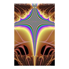 Symmetric Fractal Shower Curtain 48  X 72  (small)  by Simbadda