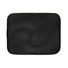 Distorted Net Pattern Netbook Case (small)  by Simbadda