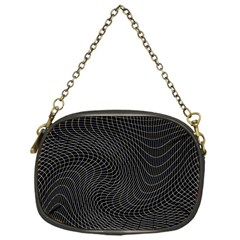 Distorted Net Pattern Chain Purses (one Side)  by Simbadda