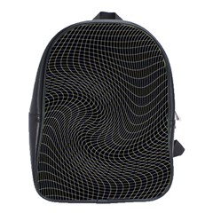 Distorted Net Pattern School Bags(large)  by Simbadda