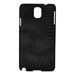 Distorted Net Pattern Samsung Galaxy Note 3 N9005 Hardshell Case by Simbadda