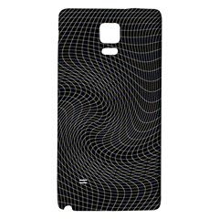 Distorted Net Pattern Galaxy Note 4 Back Case by Simbadda