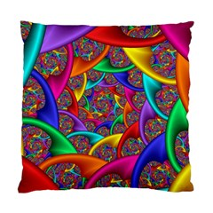 Color Spiral Standard Cushion Case (two Sides) by Simbadda