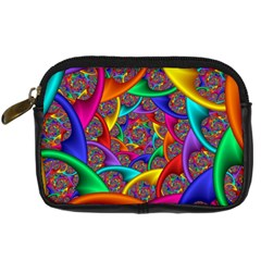 Color Spiral Digital Camera Cases by Simbadda