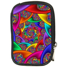 Color Spiral Compact Camera Cases by Simbadda
