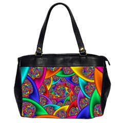 Color Spiral Office Handbags (2 Sides)  by Simbadda