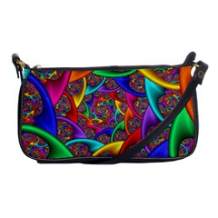 Color Spiral Shoulder Clutch Bags by Simbadda