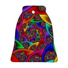 Color Spiral Bell Ornament (two Sides) by Simbadda