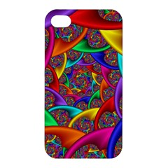 Color Spiral Apple Iphone 4/4s Hardshell Case by Simbadda
