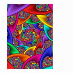 Color Spiral Small Garden Flag (two Sides) by Simbadda