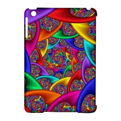 Color Spiral Apple Ipad Mini Hardshell Case (compatible With Smart Cover) by Simbadda